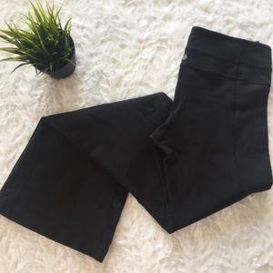 lululemon • black flare athleisure pants